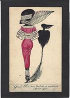 CPA Mouton Georges Femme Girl Women Circulé Mode Chapeau érotisme Glamour - Women