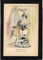 CPA Mouton Georges Femme Girl Women Non Circulé Mode Chapeau érotisme Glamour Exposition Universelle 1900 - Women