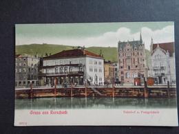 Suisse ( 237 )   Switserland  Svizzera  Sweiz  Zwitserland  :  Gruss Aus Rorschach - Svizzera