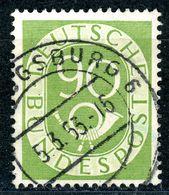 """""""AUGSBURG"""" Zentrischer Vollstempel Auf Nr. 138 - Gebraucht"""