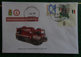Fire/Fireman/Vigili Del Fuoco/Bomberos/Feuerwehr - Buste Usate - Zonder Classificatie