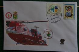 Fire/Fireman/Vigili Del Fuoco/Bomberos/Feuerwehr - Buste Usate - 6. 1946-.. Repubblica