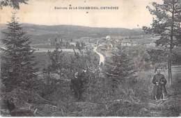 43 - CISTRIERES ( Environs De La CHAISE DIEU ) Vue Générale ( Animation En 1er Plan) - CPA Village (145 H)  Haute Loire - Altri Comuni