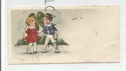 Mignonnette. Deux Enfants Et Trèfle. - Scènes & Paysages