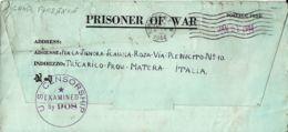 BIGLIETTO PRIGIONIERI UNITED STATES POW CAMP FLORENCE ARIZONA 1944 TRICARICO - 1900-44 Vittorio Emanuele III