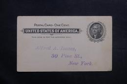 ETATS UNIS - Entier Postal Non Circulé - L 40025 - ...-1900