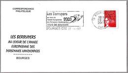 AÑO EUROPEO DE LAS PERSONAS MINUSVALIDAS - European Year Of Disabled People. Bourges 2003 - Handicap