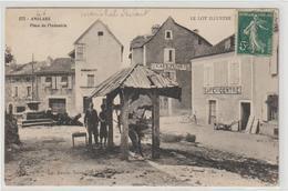 CPA    46   ANGLARS PLACE DE L INDUSTRIE    MARECHAL FERRAND - Frankreich