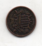 USA : 2 Cts 1864 - Émissions Fédérales
