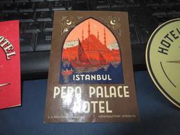 JOLI LOT D'ETIQUETTES D'HOTELS , Et Assimillées 10 Exemplaires (( Lot 302 )) - Etiquetas De Hotel