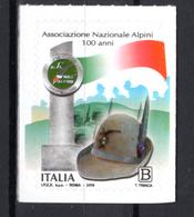 2019 -  Italia - Associazione Nazionale Alpini -  Mint - MNH - 6. 1946-.. Repubblica