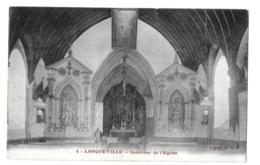 Longueville (Seine-et-Marne)  Intérieur De L'église - Frankreich