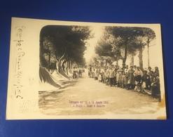 Pesaro Terremoto Agosto 1916 Tende E Baracche Campo Mirafiori Viaggiata 1916 - Pesaro