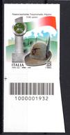2019 - ITALIA - Associazione Nazionale Alpini  - COD  -  Mint - MNH - Codici A Barre