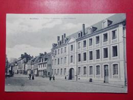 Carte Postale  - BERNAY (27) Collège Communal Et Rue D'Alençon (3261) - Bernay