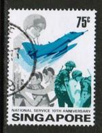 SINGAPORE  Scott # 262 VF USED  (Stamp Scan # 526) - Singapore (1959-...)