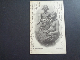 Afrique ( 60 )  Africa  Afrika  :   Sénégal    Jeune Fille Lahobe -  Femme Aux Seins Nus  Nu - Sénégal