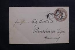 ETATS UNIS - Entier Postal De New York En 1895 Pour L 'Allemagne - L 40033 - Entiers Postaux