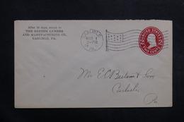 ETATS UNIS - Entier Postal De Carlisle En 1911 En Local - L 40034 - Entiers Postaux
