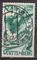 Occupation Française - WURTEMBERG - Chateau De Liechtenstein - N° 12 - 1947 - Zone Française
