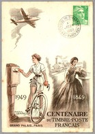 CENTENARIO DEL SELLO - Centenary Of Stamp - Centenaire Du Timbre. Paris 1949 - Correo Postal