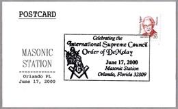 MASONERIA - INTERN.SUPREME COUNCIL ORDER OF DEMOLAY. Orlando FL 2000 - Francmasonería