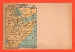 AOI Franchigia Militare Africa Orientale 1935 Cartolina Postale - Militaria