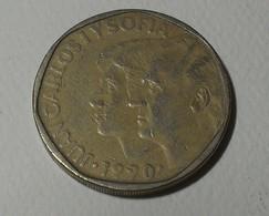 1990 - Espagne - Spain - 500 PESETAS, Juan Carlos 1 Y Sofia, KM 831 - [ 5] 1949-… : Koninkrijk