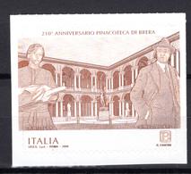 2019 -  Italia - Pinacoteca Di Brera -  Mint - MNH - 6. 1946-.. Repubblica