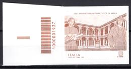 2019 - ITALIA - Pinacoteca Brera - COD  -  Mint - MNH - Codici A Barre