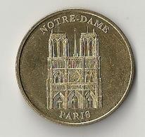 Médaille Touristique France Monnaie De Paris édition Limitée 2004 Ville PARIS Cathédrale NOTRE- DAME église - Monnaie De Paris