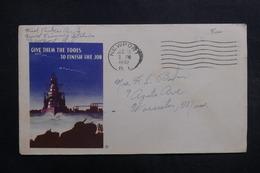 ETATS UNIS - Enveloppe De Soldat En Franchise Postal En 1942 , à Voir - L 40045 - Marcophilie