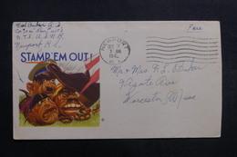ETATS UNIS - Enveloppe De Soldat En Franchise En 1942 , à Voir - L 40047 - Marcophilie