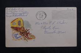 ETATS UNIS - Enveloppe De Soldat En Franchise En 1943 , à Voir - L 40048 - Marcophilie