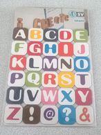 Lot 30 Magnets Aimants Lettres Alphabet Arobase Signes Interrogation Et Exclamation - Magnets