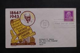 ETATS UNIS - Enveloppe FDC En 1948 - George Washington Carver - L 40053 - Premiers Jours (FDC)