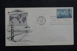 ETATS UNIS - Enveloppe FDC En 1947 - Pont De San Francisco - L 40054 - Premiers Jours (FDC)