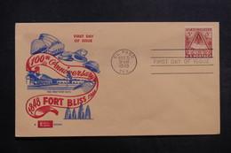ETATS UNIS - Enveloppe FDC En 1948 - Fort Bliss - L 40056 - Premiers Jours (FDC)