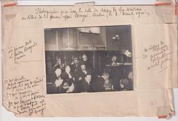 SALLE DES ASSISE  AFFAIRE BRENGUS  10*8CM Maurice-Louis BRANGER PARÍS (1874-1950) - Fotos