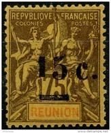 Reunion (1901) N 54 * (charniere) - Réunion (1852-1975)