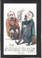 CPA Bobb Satirique Caricature Non Circulé Dessin Original Fait Main Rouvier Doumer - Satirical