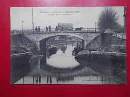 Carte Postale  - NEMOURS (77) - Crue Du 20 Janvier 1910 - Pont De Paris (3270) - Nemours