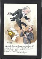 CPA Bobb Satirique Caricature Non Circulé Dessin Original Fait Main Brisson Delahaye Cholet - Satira