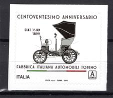 2019 -  Italia - FIAT -  Mint - MNH - 6. 1946-.. Repubblica