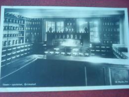 Unused  Postcard From Norway, Ibsen, Apoteket Grimstad - Norway