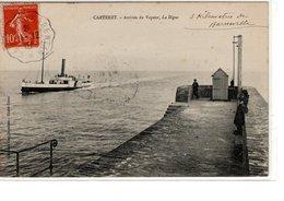 Carteret Arrivée Du Vapeur, La Digue - Carteret