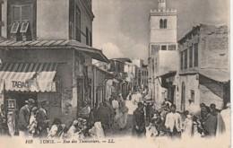 ***  TUNISIE  ***  Tunis -- TUNIS  Rue Des Teinturiers - TTBE - Tunisie