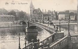 ***  LIEGE  La Passerelle - TTB Timbrée - Liege
