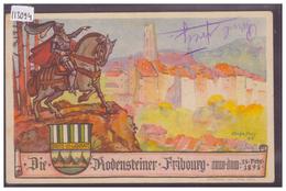 FRIBOURG - DIE RODENSTEINER 13 FEVRIER 1898 - TB - FR Fribourg