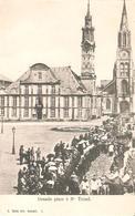20) SINT-TRUIDEN - Grande Place (processie) - Sint-Truiden